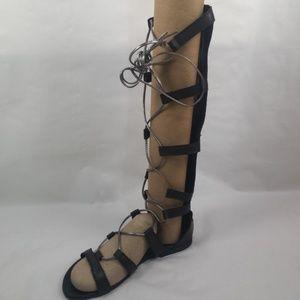 A. GIANETTI gladiator style sandal SH09